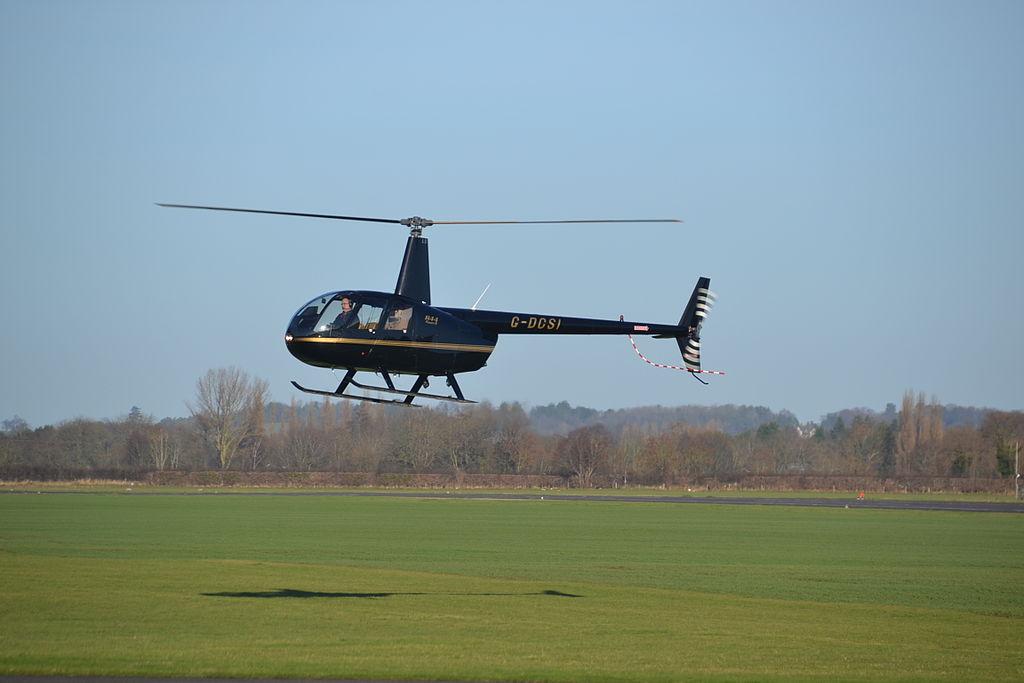 Вертолёт Robinson R44